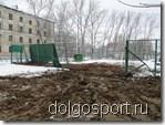 Результат ликвидации аварии на теннисном корте в Долгопрудном
