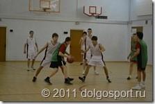 «Президентские спортивные игры» по баскетболу в Долгопрудном.