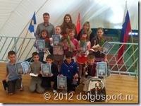 Призёры турнира в Пироговском Теннисном центре