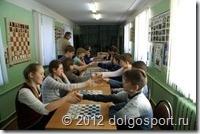Спорт в Долгопрудном. Соревнования по шашкам.