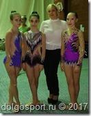 Новогодний турнир по художественной гимнастике во Владимире