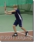 Дима Булыгин - победитель Новогоднего турнира по теннису в Долгопрудном