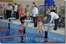Городские соревнования по плаванию. Долгопрудный 20.12.2011