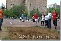 Городские соревнования школьников по лёгкой атлетике.