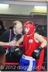 Тренер отделения бокса ДЮСШ Дмитрий Авилов с учеником